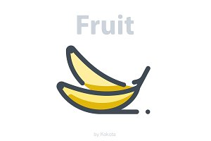 Fruit 30 icons