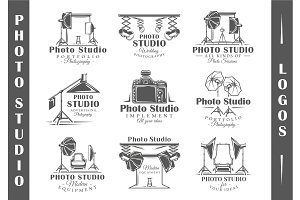 9 Photo Studio Logos Templates Vol.1