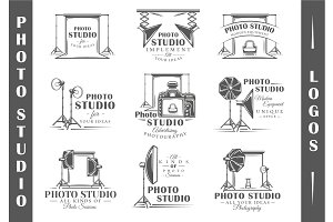 9 Photo Studio Logos Templates Vol.2