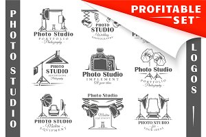 18 Photo Studio Logos Templates
