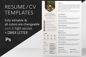 Resume / CV + Cover Letter Template