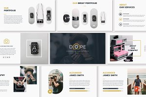 DOPE - Powerpoint Template