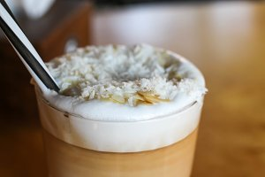 coffee with coconut