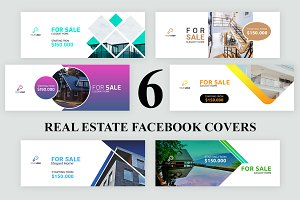 6 Real Estate Facebook Covers
