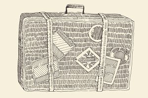 Suitcase (luggage)
