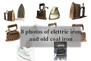 Coal iron and iron electric iron