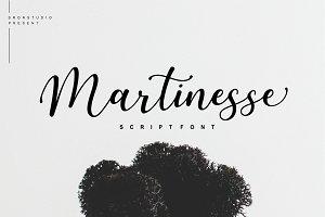 Martinesse - Beautiful Script Font