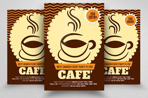 Cafe' Flyer Template