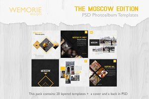 Square Photoalbum Template Travel