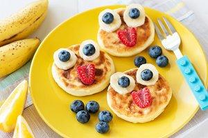 Funny Healthy Breakfast For Kids