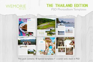 Square Photoalbum for Travel