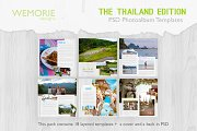 Square Photoalbum for Travel