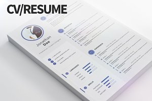 CV/Resume - Modern and clean