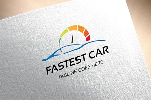 Fastest Car Logo