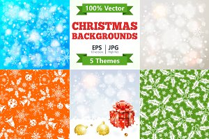 Christmas Backgrounds Themes