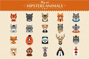 Animal hipsters