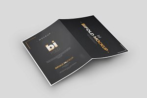 Bi-Fold A5 Brochure / Mock-up 3