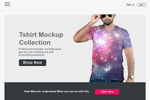 Professional Tshirt Mockup 7.3