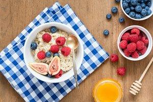 Breakfast Oatmeal Porridge