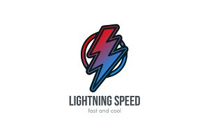 Fast Speed Logo Template