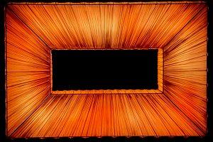 Orange Lighted Rectangle- GO BEYOND