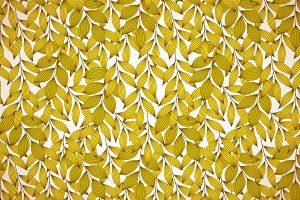 Golden yellow autumn leaves pattern