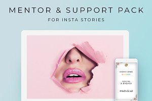 Mentor & Support Pack -Insta Stories