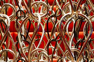 HOOKED - Silver hooks art design