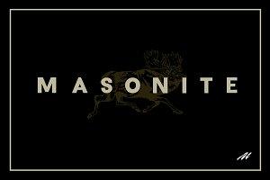 Masonite Regular