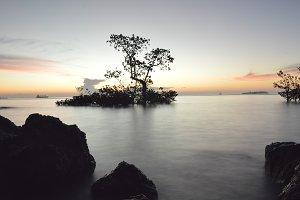Sunset in Nirwana beach