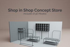 Shop in Shop Concept Store
