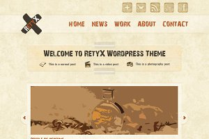 RetyX - HTML Vintage Template