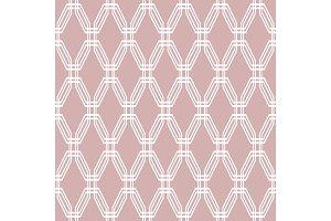 Seamless Geometric Vector Purple and