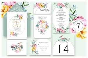 Decoration Wedding Invitation Ac.56