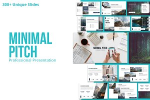 Minimal Pitch Powerpoint Template