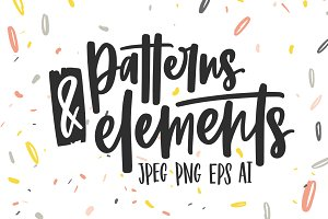 Creative patterns and elements