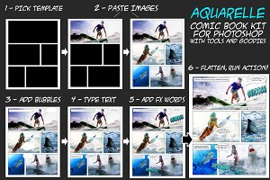 Aquarelle Comic Book Creator