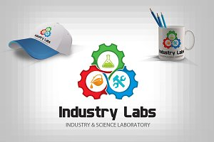 Industry Science Chemistry Logo