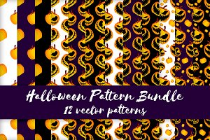Halloween Pattern Bundle (Sale)