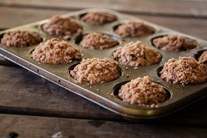 Coffee Muffins in a Pan