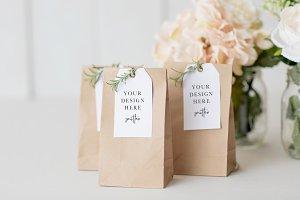 Wedding Favor Tag Mockup