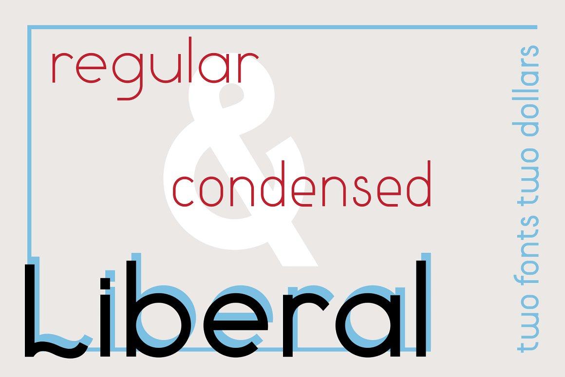 Liberal - Sans Serif Font