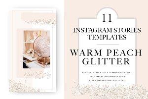 Instagram Stories |WarmPeachGlitter
