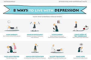 Eight ways to live with depression