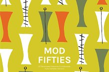 Mod Fifties | Artboards + Patterns by  in Patterns