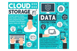 Cloud storage information technology