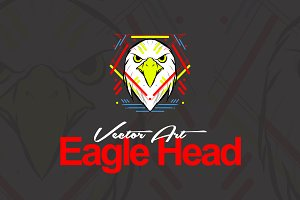 Eagle Head Vector Art