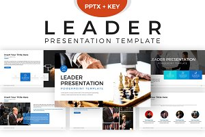 Leader Powerpoint Template