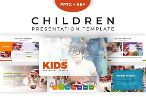 Children Presentation Template