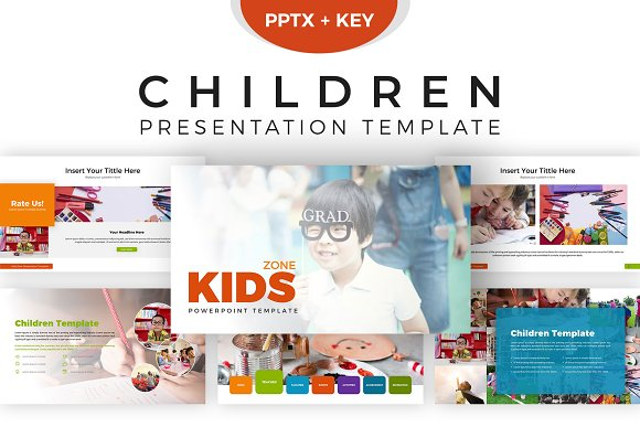 children presentation template presentation templates creative
